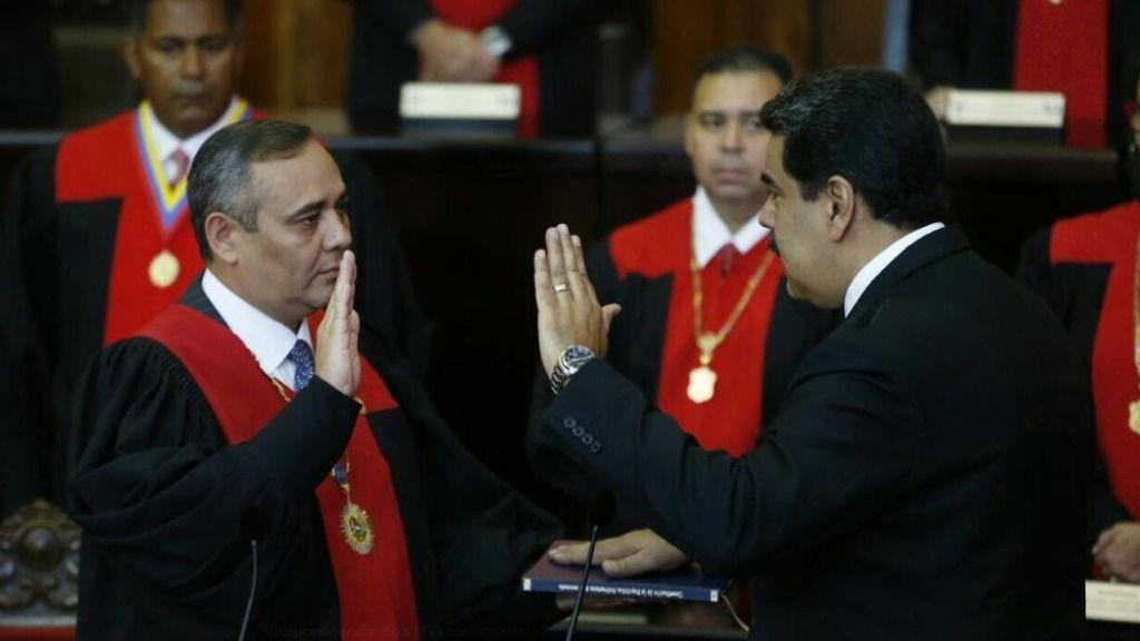 La toma de posesión fue en el TSJ de Venezuela / Twitter: ViceVenezuela