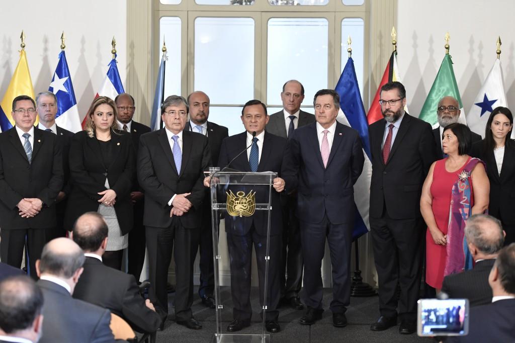 El Grupo de Lima incrementa las medidas contra el régimen / Flickr: Cancillería Perú