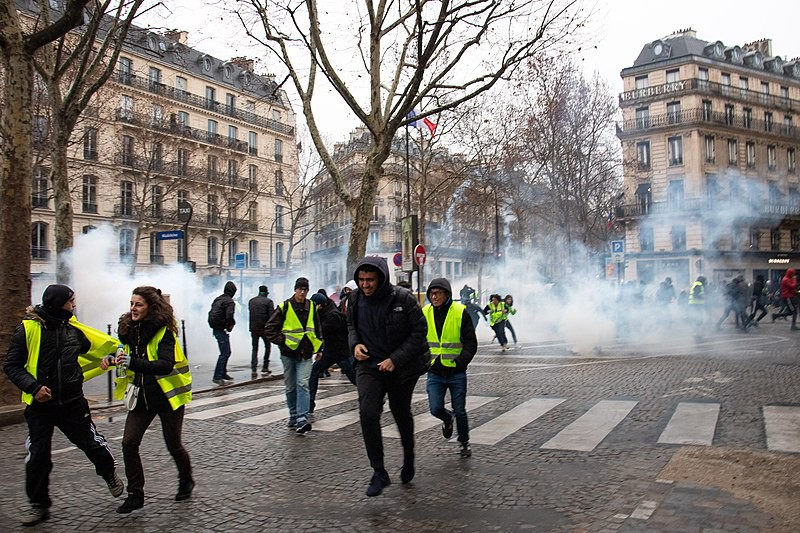 Francia vive una convulsión social por los 'chalecos amarillos' / Foto: WC