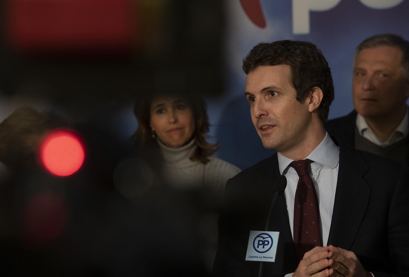 El discurso de Casado recuerda al de Nicolás Maduro / Foto: PP