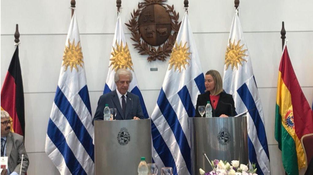 México y Uruguay no pudieron sumar a la UE a su causa / Foto: @FedericaMog