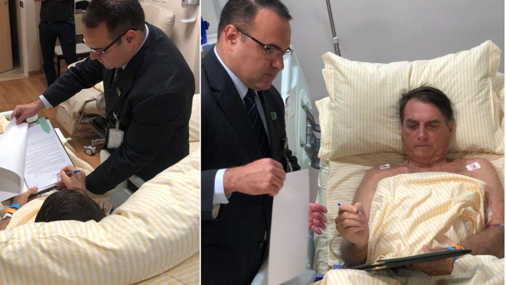 Bolsonaro estuvo ingresado 17 días / Twitter: jairbolsonaro