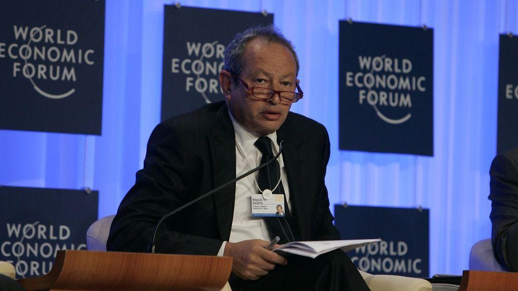 Sawiris es la segunda fortuna de Egipto, por detrás de su hermano / Foto: FMI