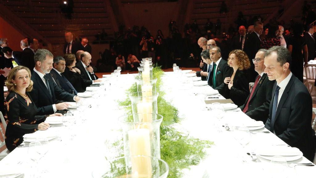 El Mobile World Congress es el escenario favorito del independentismo para los desplantes / Foto: Casa Real