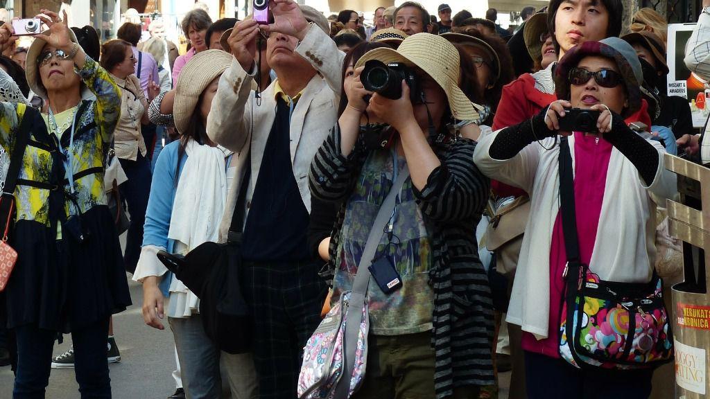 Cada vez hay más turistas chinos / Foto: Pixabay