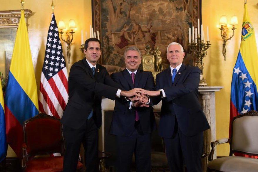 EEUU quiere congelar los activos de PDVSA en América Latina / Foto: Presidencia de Colombia
