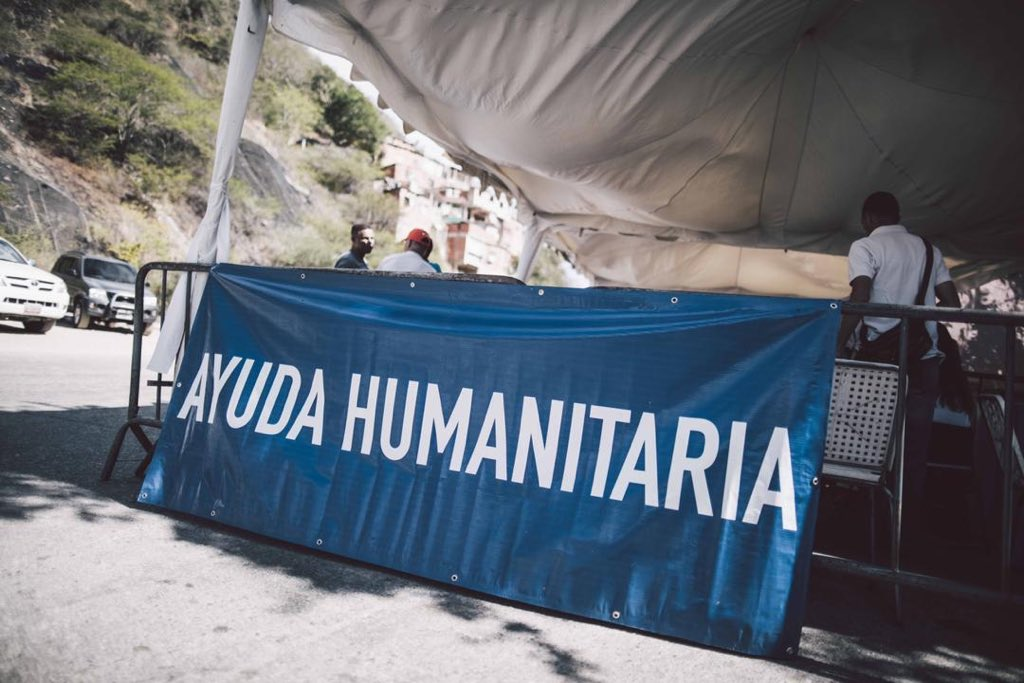 El plan de ayuda humanitaria de Juan Guaidó tiene un impacto mundial / Foto: @jguaido
