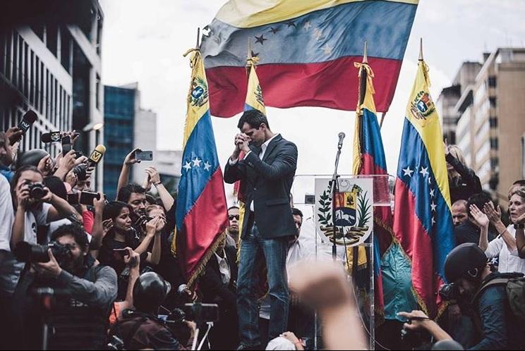 Guaidó se define en Instagram como presidente de Venezuela / Foto: @jguaido