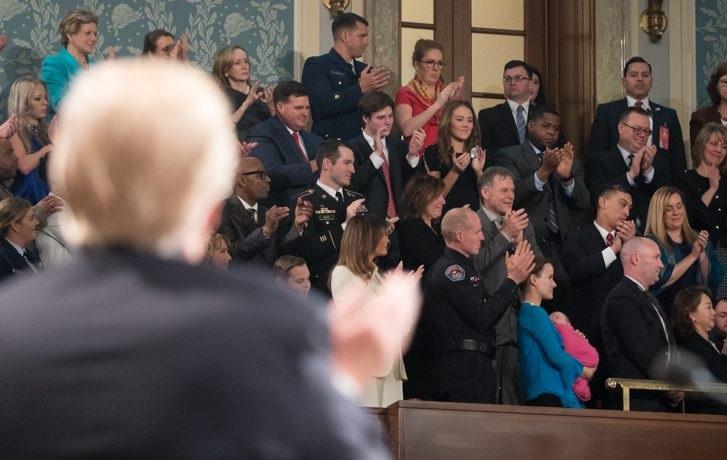 La causa de Juan Guaidó despertó los aplausos en el Congreso estadounidense / Foto: White House