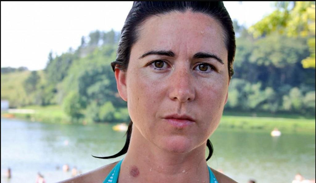 Elba Martínez pareciera dispuesta a todo para llamar la atención / Foto: Web Elba Martínez
