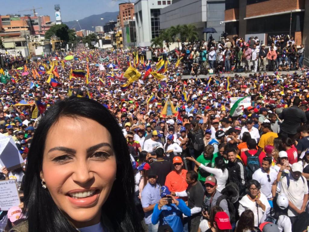Delsa Solórzano es diputada en la Asamblea Nacional / Foto: @delsasolorzano