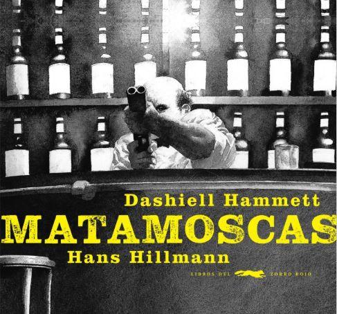 """""""Matamoscas"""" está ilustrado por Hans Hillmann / Foto: Libros del Zorro Rojo"""