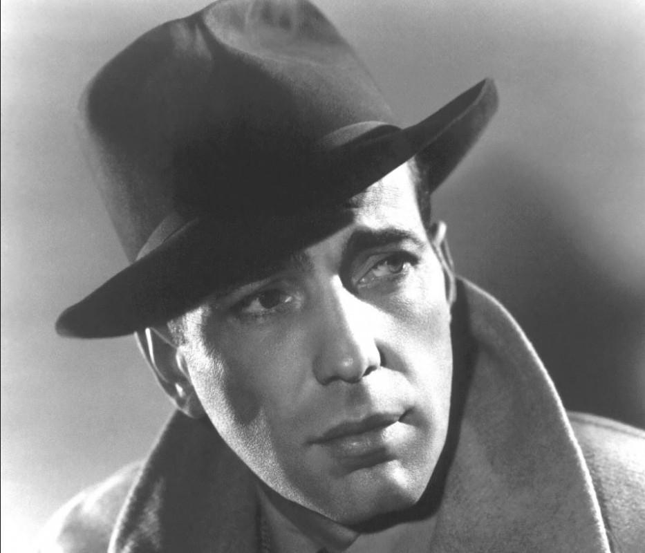 Humphrey Bogart encarnó a Sam Spade en 'El halcón maltés' / Foto: WC