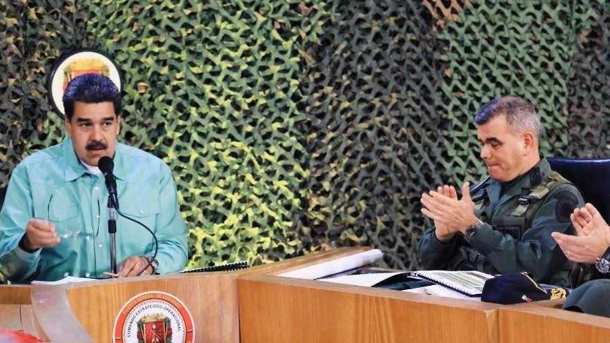 Padrino López es quien domina al alto mando en la Fuerza Armada / Foto: Prensa Presidencial