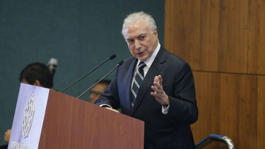 Temer asumió la Presidencia de Brasil tras el impeachment a Rousseff / Twitter: @micheltemer