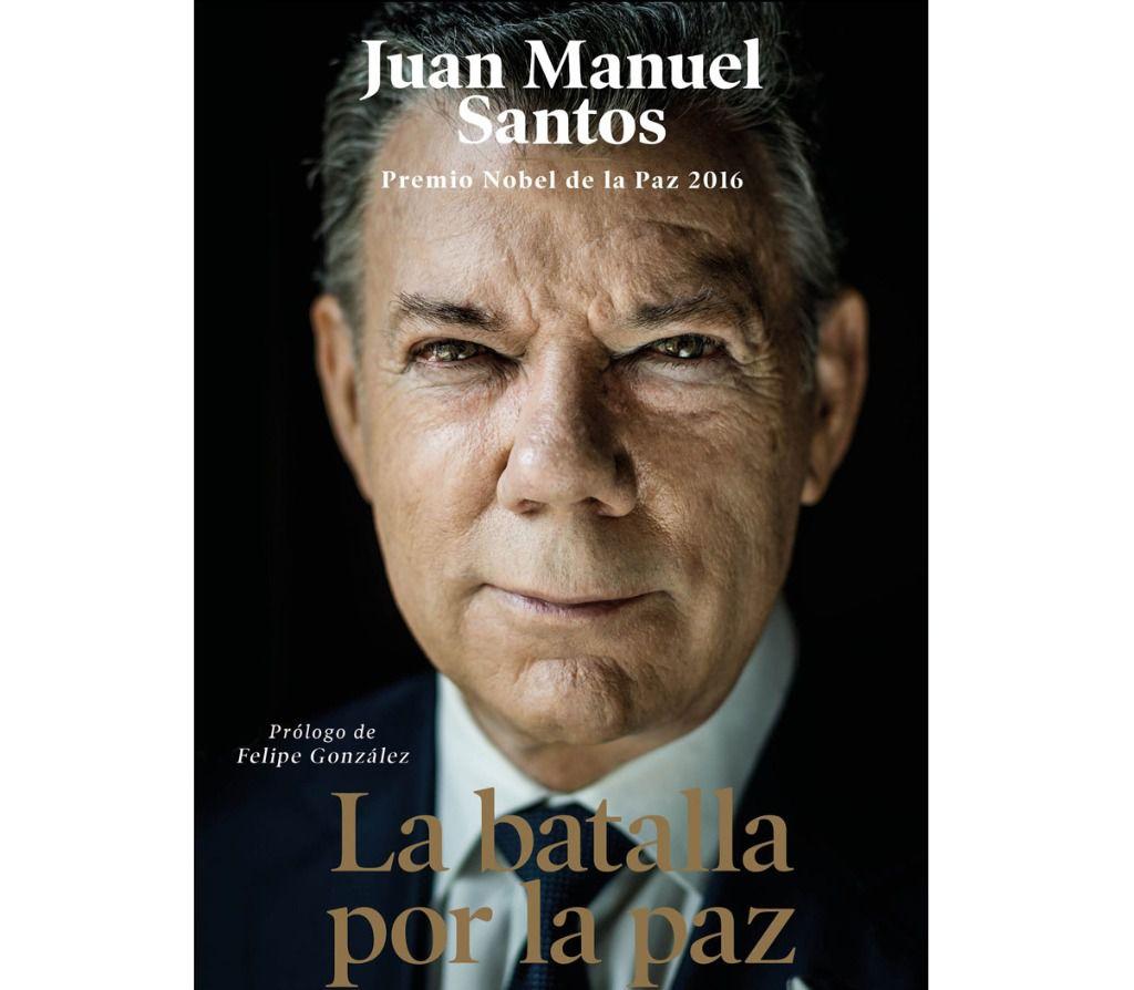 Santos es autor de 'La batalla por la paz' / Foto: Península Huellas