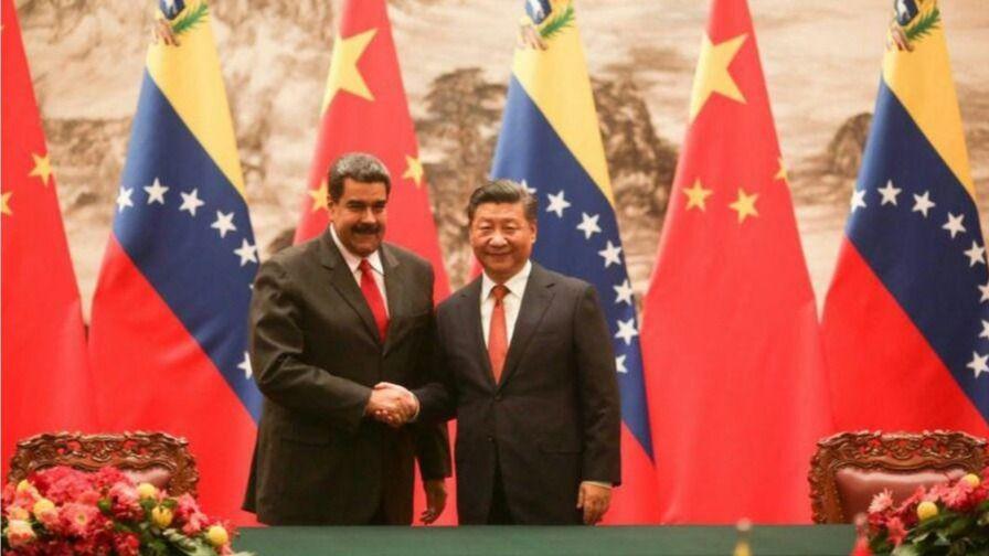 Maduro y Xijinping