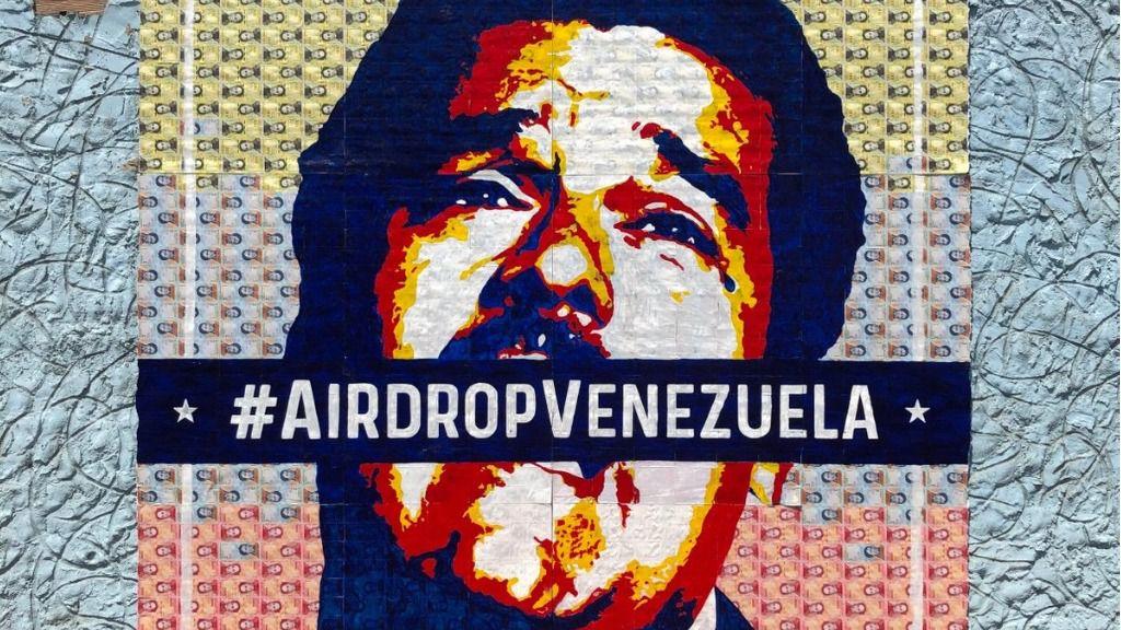 El bloqueo de Maduro no puede con las criptomonedas / Foto: @cryptograffiti