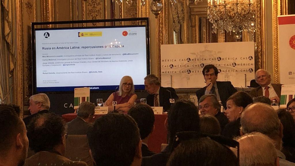 Mira Milosevich es investigadora principal del Real Instituto Elcano / Foto: ALN