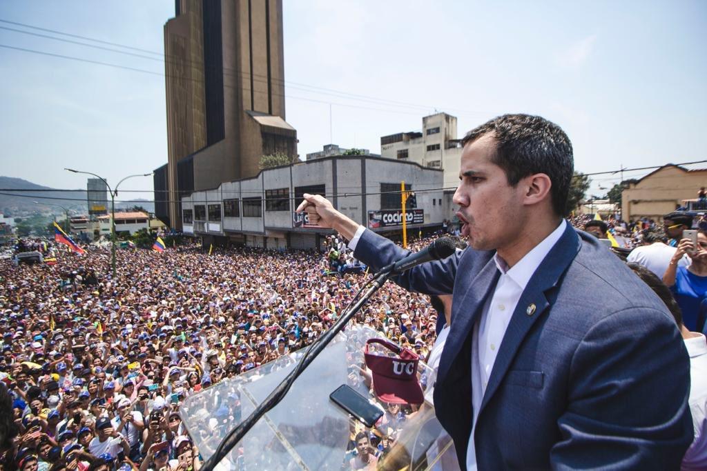 Juan Guaidó dice que la dictadura de Nicolás Maduro ya no da miedo / Foto: @jguaido