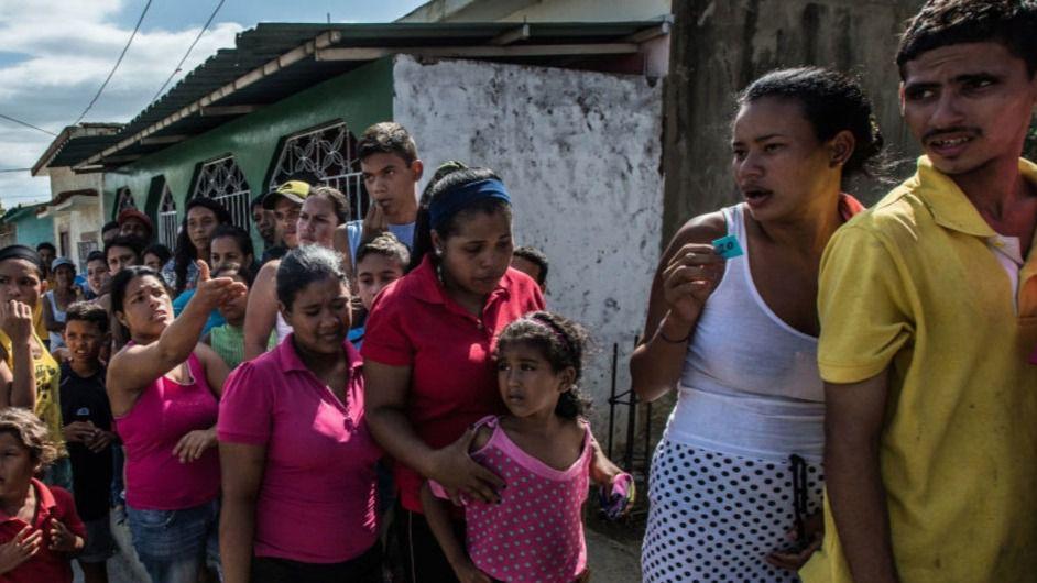 5.000 personas de media al día cruzan la frontera de Venezuela / Foto: ONU