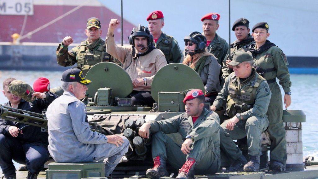 Maduro amenaza con hacer de Venezuela la Siria de América del Sur / Foto: @NicolasMaduro