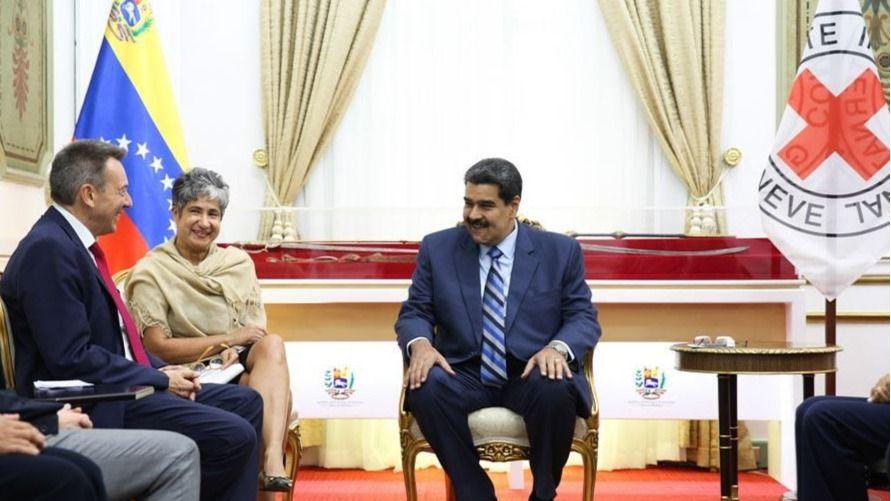 El régimen de Maduro y la Cruz Roja Internacional llegan a un acuerdo / Twitter: @PresidencialVen