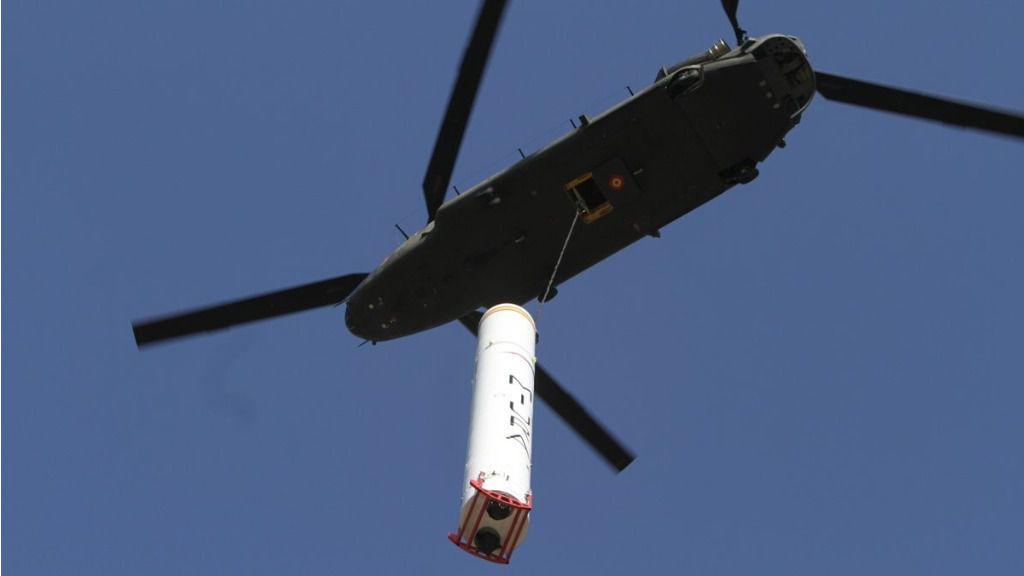 El primer test fue salvado por una maniobra del Ejército / Foto: Ejército de Tierra