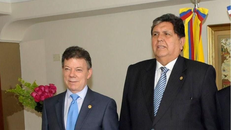 García alertó a Santos / Foto: Gobierno de Chile