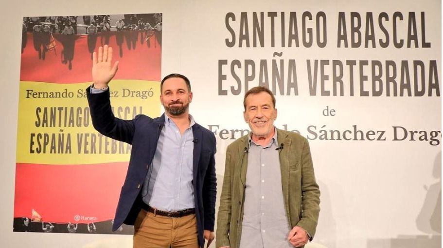 Una extensa entrevista a Santiago Abascal se convirtió en libro / Twitter: @vox_es