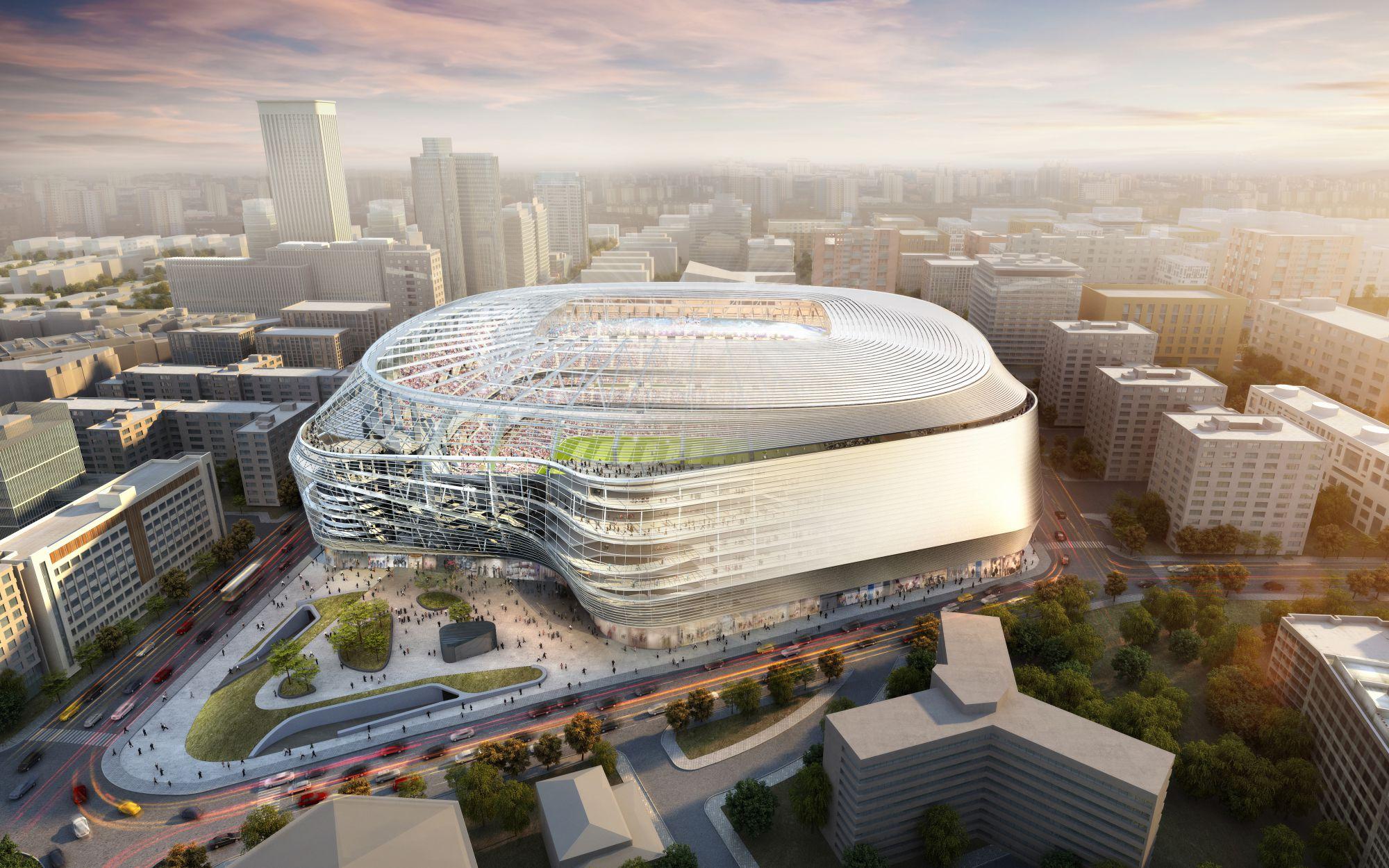 Las obras del nuevo estadio comenzarán este verano / Foto: Real Madrid