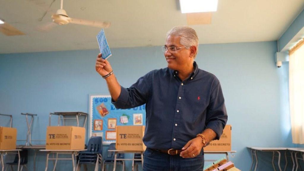 Blandón quedó relegado a la cuarta posición en las elecciones / Twittter: @BlandonJose