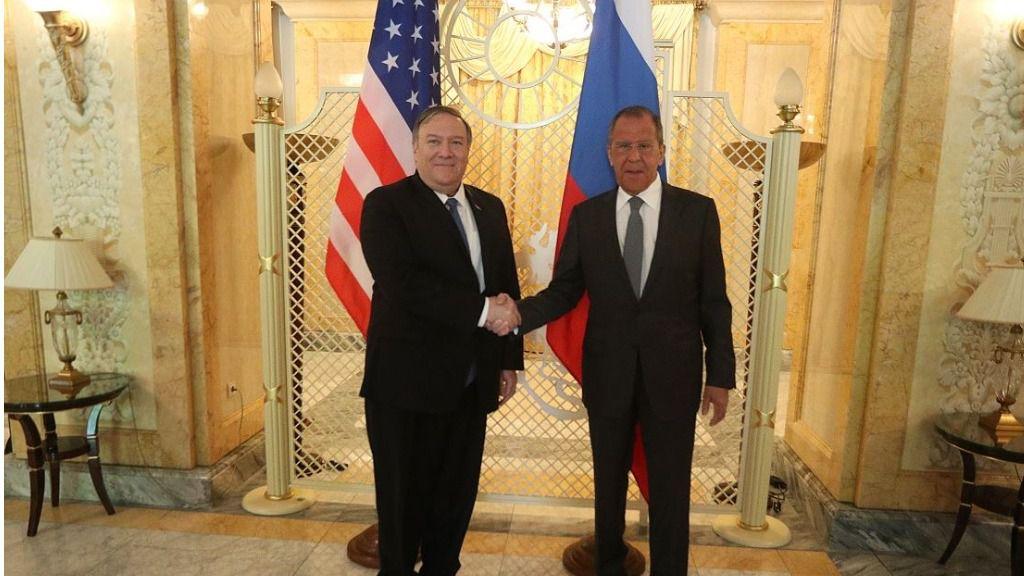 Pompeo y Lavrov hablaron sobre Venezuela / Foto: Cancillería Rusia