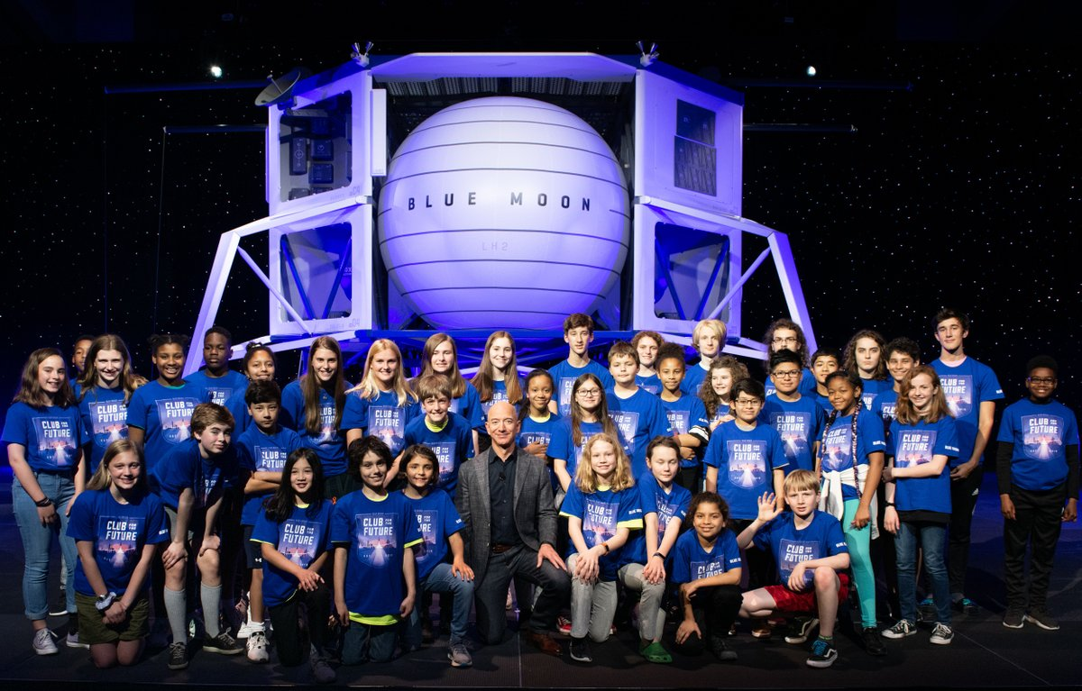 Elon Musk polemiza con la nave espacial de Bezos / Foto: Blue Origin