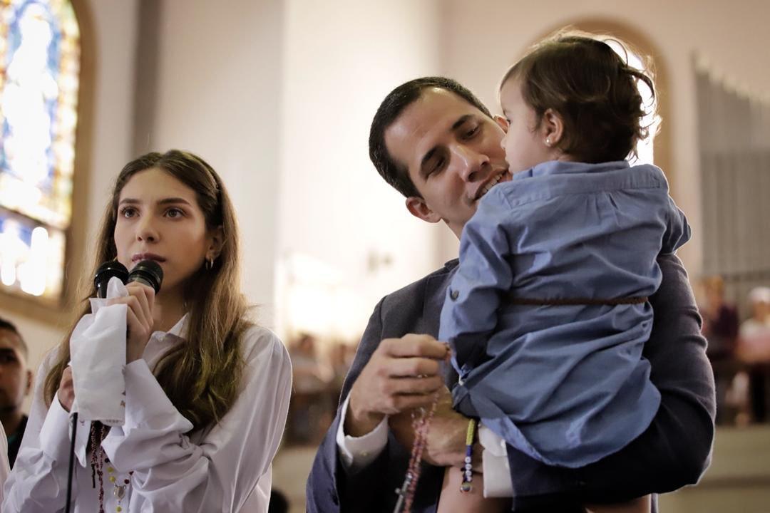 El matrimonio mantiene un mismo discurso por Venezuela / Foto: @FabiiRosales