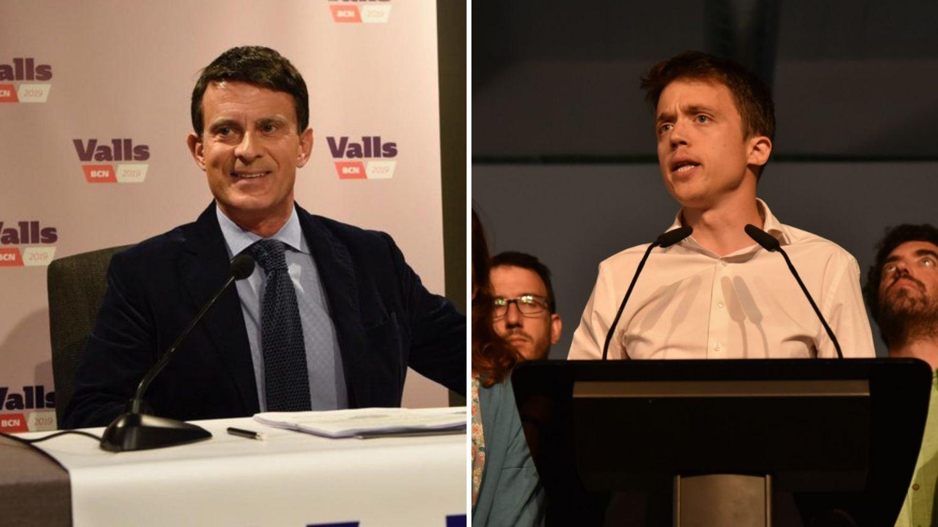 Valls y Errejón tiran de pragmatismo para hablar de pactos / Foto: Twitter de Valls y Más Madrid