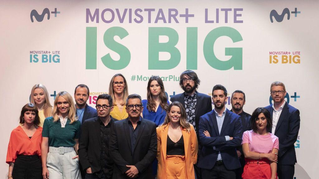 Movistar presentó la nueva aplicación reuniendo a las caras más conocidas de sus programas / Foto: Movistar+