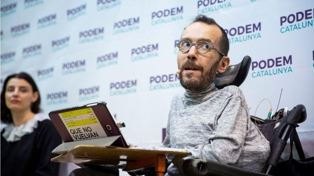 El exsecretario de Organización de Podemos tiene 48 litecoins y 0,13 bitcoin / Foto: Podemos