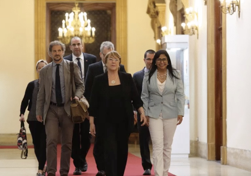 Las torturas y la falta de acceso a la justicia: lo que más preocupa a Bachelet / Foto: Prensa Presidencial