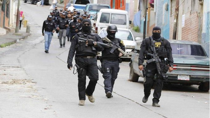 Todos los cuerpos militares de Maduro tienen una función represora / Foto: Provea