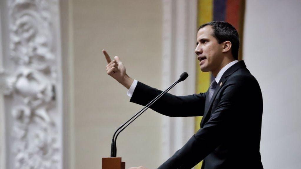 Ayer domingo, Guaidó confirmó que iba a la nueva ronda / Foto: @jguaido