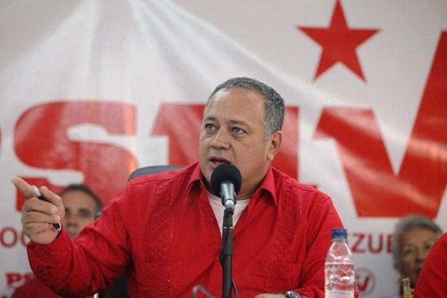 Diosdado Cabello ha convocado a una marcha en contra del documento / Foto: PSUV