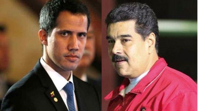 Guaido y Maduro