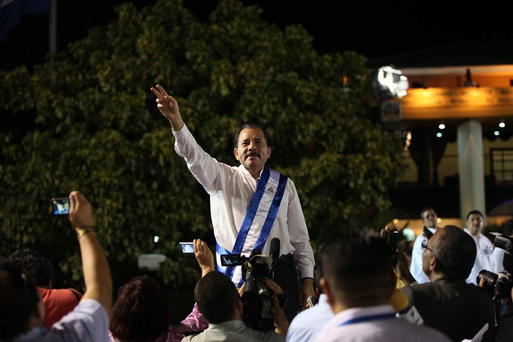 El régimen de Daniel Ortega todavía piensa que la revolución sandinista sigue viva / Foto: Cancillería de Ecuador