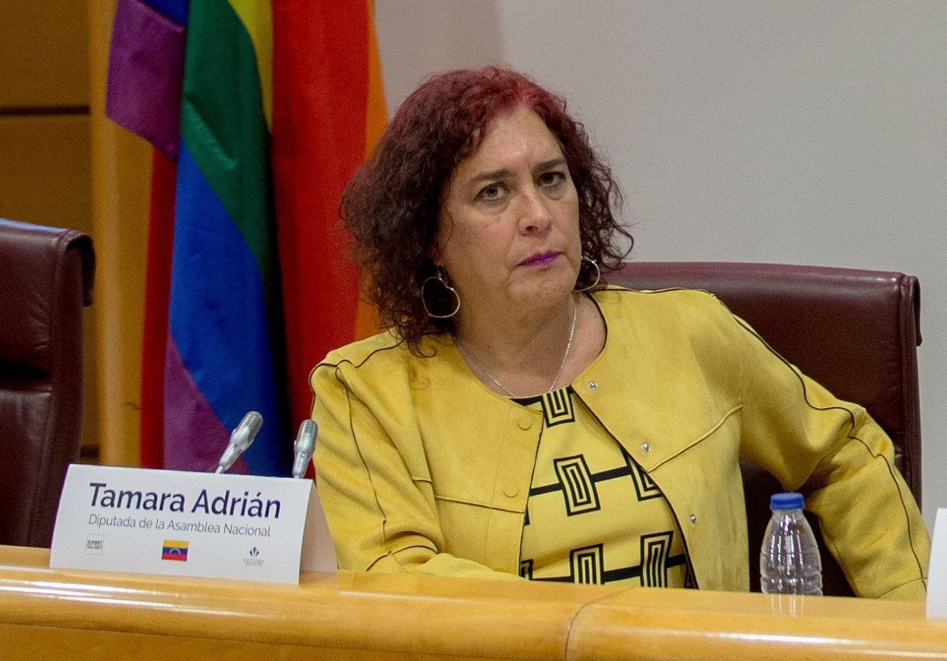 """Tamara Adrián: """"Seguir donde estamos es la muerte"""" / Foto: Madrid Summit"""