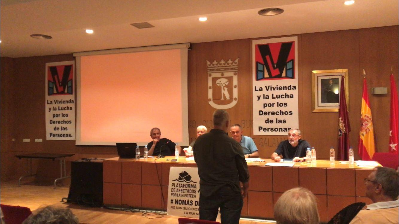 El dirigente Manuel Rodríguez fue agredido en un acto chavista en Madrid / Foto: Cortesía