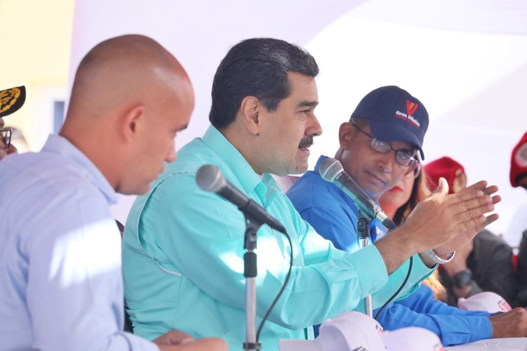 """El exjefe del Sebin retrata a Nicolás Maduro como el jefe de una """"empresa criminal"""" / Foto: Prensa Presidencial"""