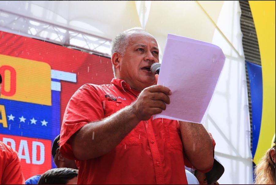 """Diosdado Cabello """"quemó las naves"""", """"destruyó su activo"""" / Foto: @dcabellor"""