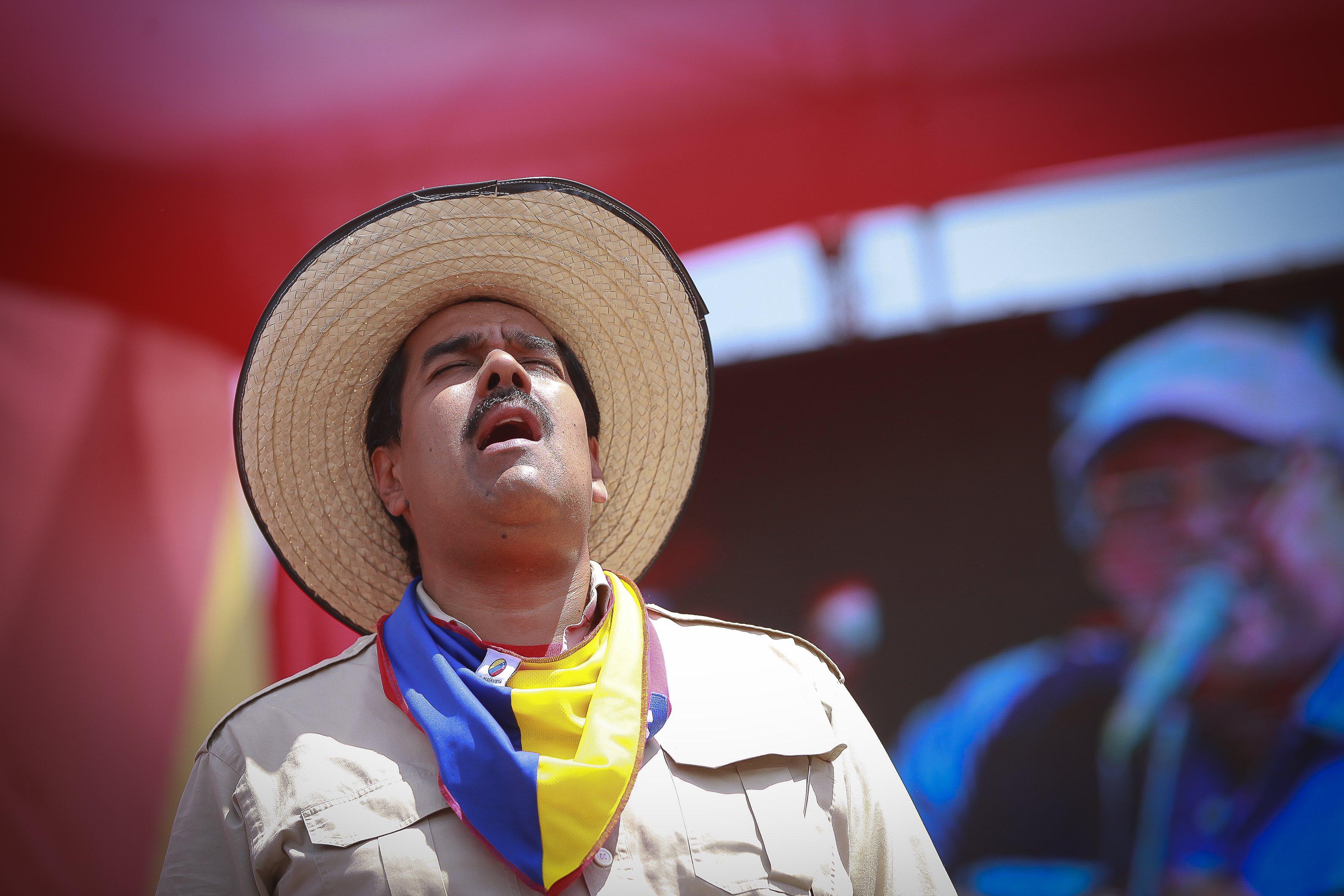 """Gómez descubrió que en las campañas chavistas """"todo es show y negocios"""" / Foto: José Carlos Gómez"""