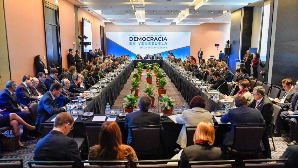 A la Conferencia Internacional de Lima asistieron más de 60 delegaciones / Foto: Gobierno de Perú